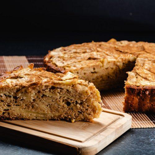 Gâteau-aux-pommes-chocolat